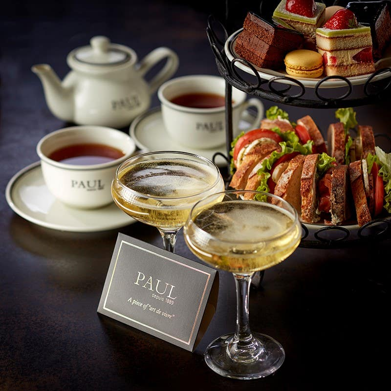 AFTERNOON TEA AT LE RESTAURANT DE PAUL – A GREAT BRITISH TRADITION WITH A DISTINCTLY FRENCH FLAVOUR!