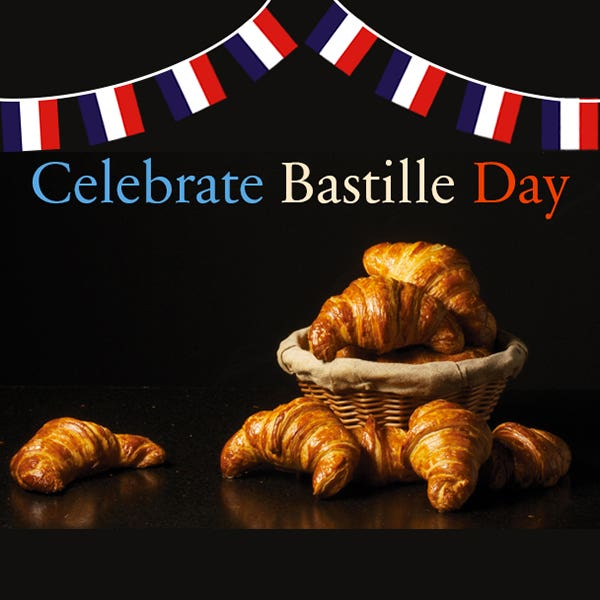 Free Goodies When You Show Us Your French Side On Bastille Day, 14th July