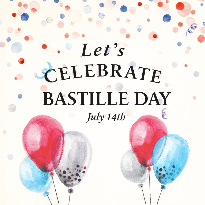 Celebrate Bastille Day at PAUL - 14th July