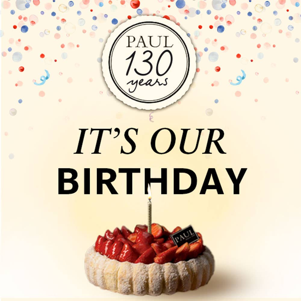 It's Our 130th Birthday!