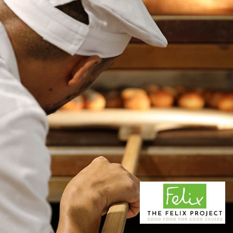 THANK YOU SO MUCH FOR BUYING YOUR FRESH BREAD FROM PAUL AND HELPING US RAISE £15,000 FOR THE FELIX PROJECT