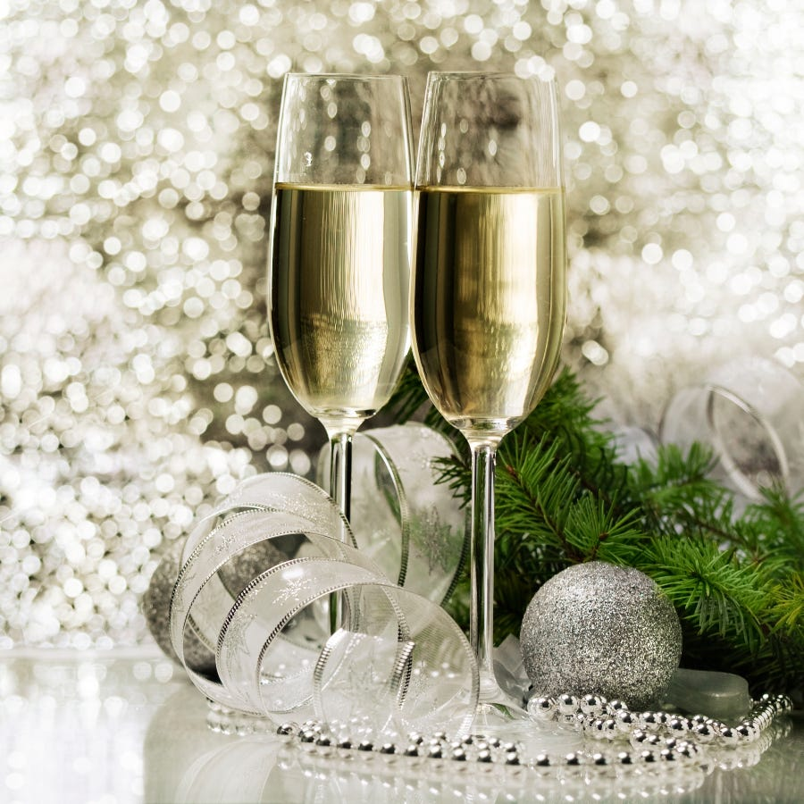 Book Christmas early and enjoy bubbles on us!