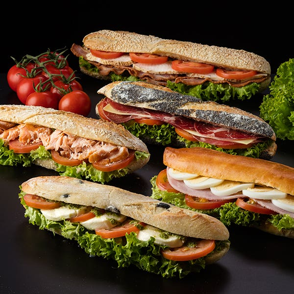 IN SHOP NOW – NEW SANDWICHES AND SALADS AT PAUL