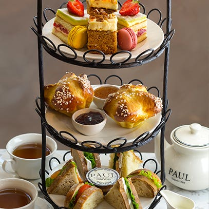 TEA FOR DEUX – PAUL TAKES ON THE GREAT BRITISH AFTERNOON TEA, IN INIMITABLE FRENCH STYLE