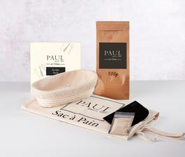PAUL Home Bread Maker Kit with 500g White Bread Flour