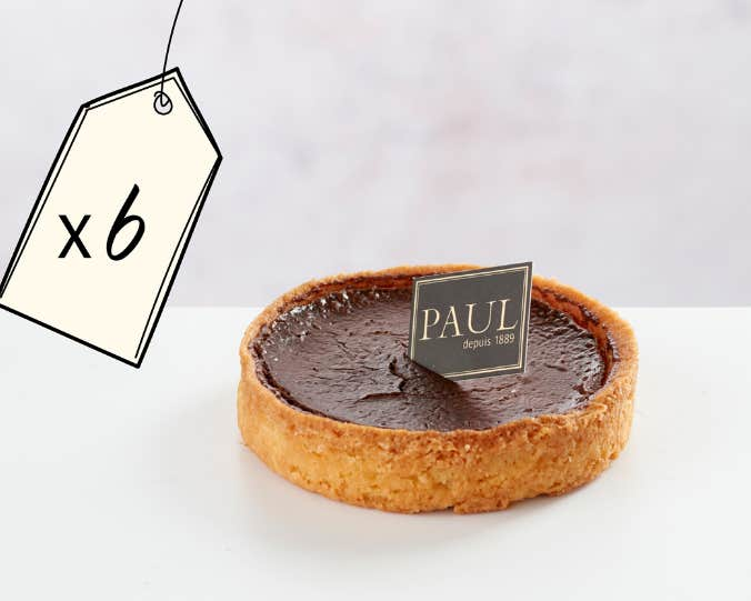 6 Chocolate Tartlets