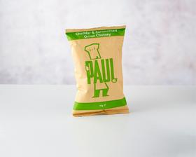 Paul Crisps - Cheddar & Caramelised Onion Chutney