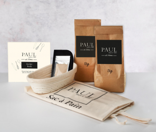 PAUL Home Bread Maker Kit with 2kg Flour