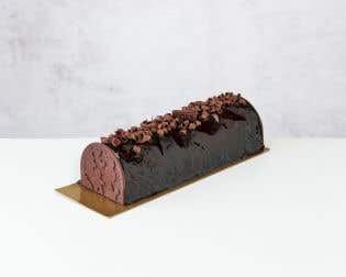 Chocolate Praline Yule Log – Family Size