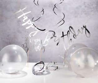 Silver Party Decoration Box