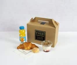Classic PAUL Croissant Breakfast Box for 1