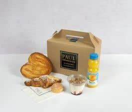 Premium Almond Croissant Breakfast Box for 1