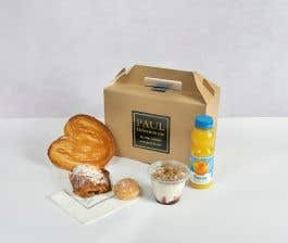 Pain au Chocolat Almond Breakfast Box for 1