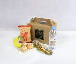 PAUL Classic Chicken Salad Baguette Lunch Box for 1