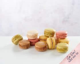 A Dozen Mini Macarons