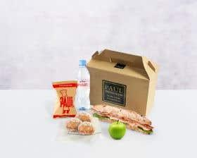 Christmas Turkey Sandwich Lunch Box