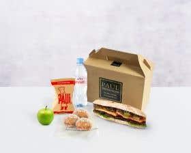 Vegan Sprout Sandwich Lunch Box
