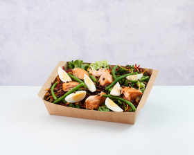 Salmon & Lentil Niçoise Salad