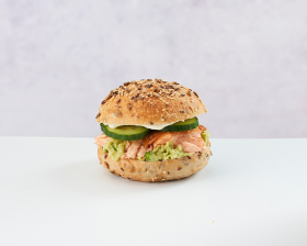 Salmon and Chickpea Roll