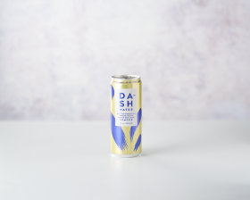Dash Sparkling water with Lemon 330ml front view