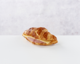 Croissant Ham & Cheese front view