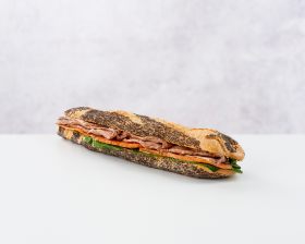 Roast Beef Sandwich front view