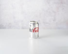Diet Coca cola 330ml front view