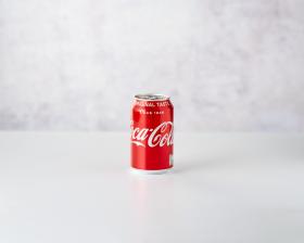 Coca Cola 330ml front view