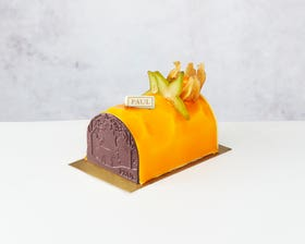 Coconut and Passion Fruit Yule Log – Serves 4