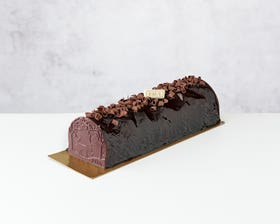 Chocolate Praline Yule Log – Serves 8