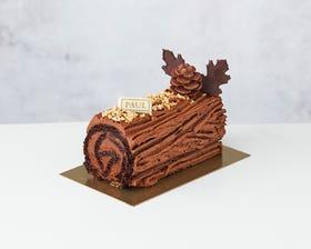 Chocolate Yule Log – Serves 4