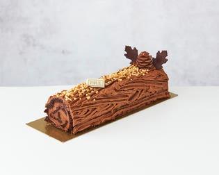 Chocolate Yule Log – Serves 8