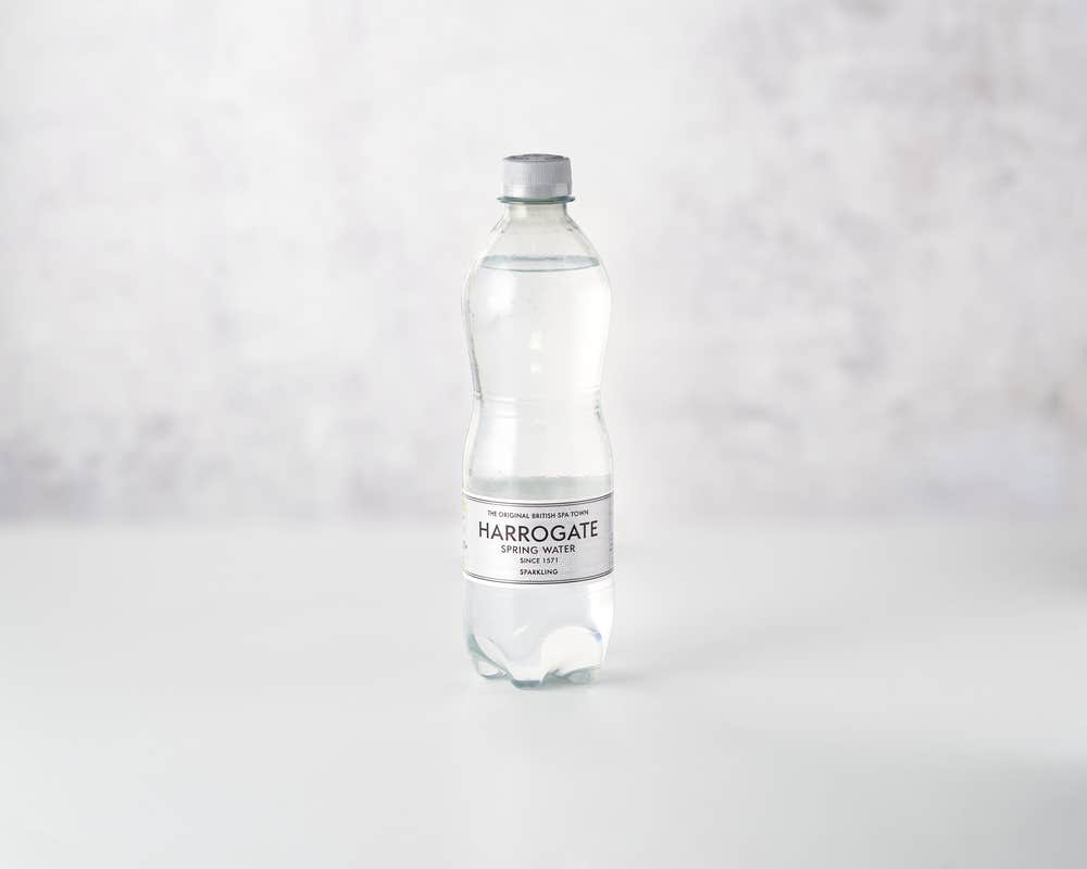 Harrogate sparkling water category page
