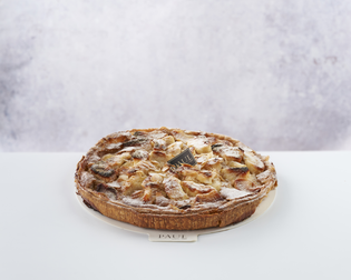 Tarte Flan Normand front view