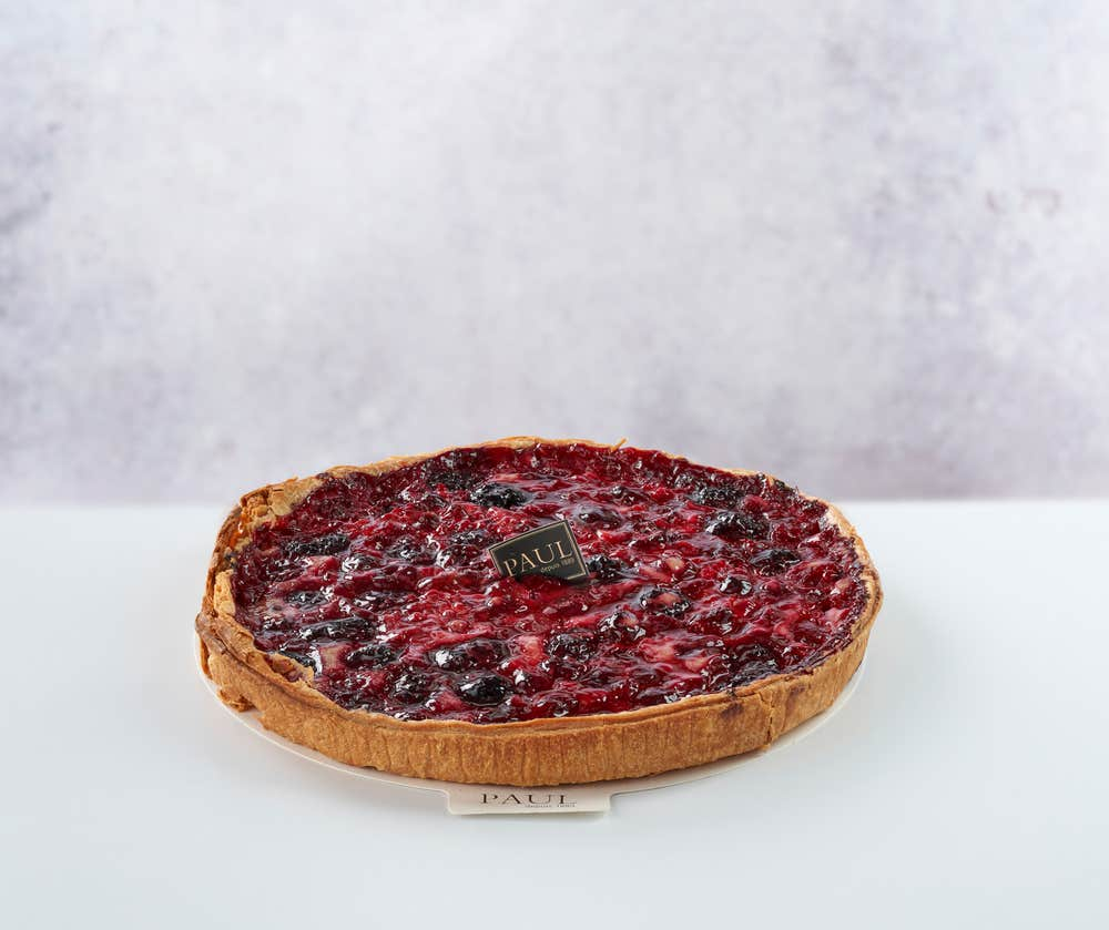 Tarte Fruits Rouges  front view