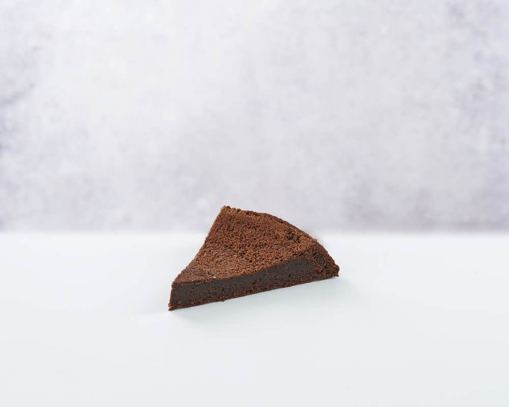 Moelleux Chocolat - Slice front view