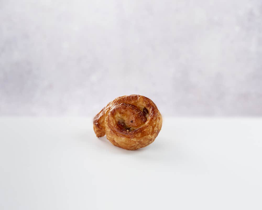 Mini Escargot Raisin front view