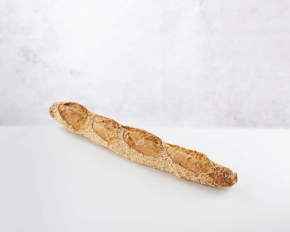 Sesame seed baguette category page