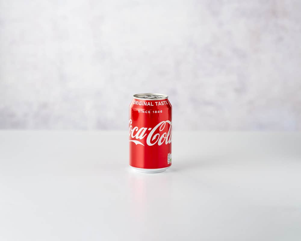 Coca Cola 330ml category page