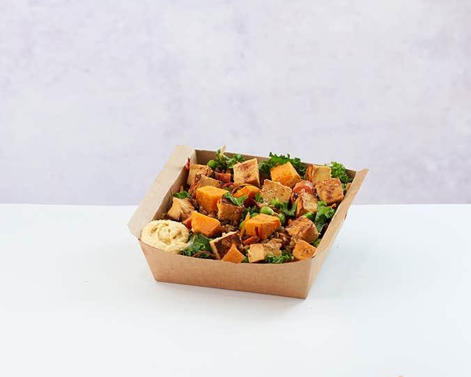 Tofu & Sweet Potato Salad