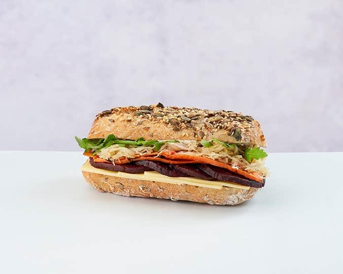 Vegan Reuben Roll