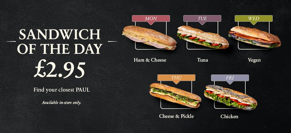 Sandwich of the day