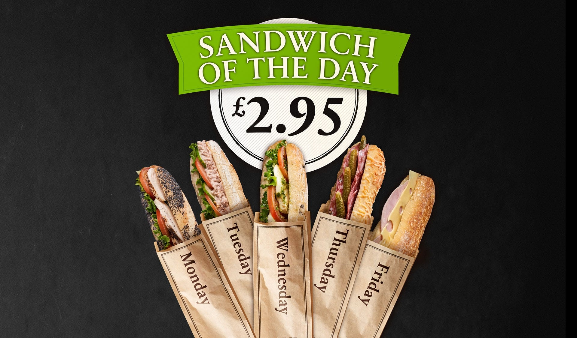 Sandwich of the day PAUL