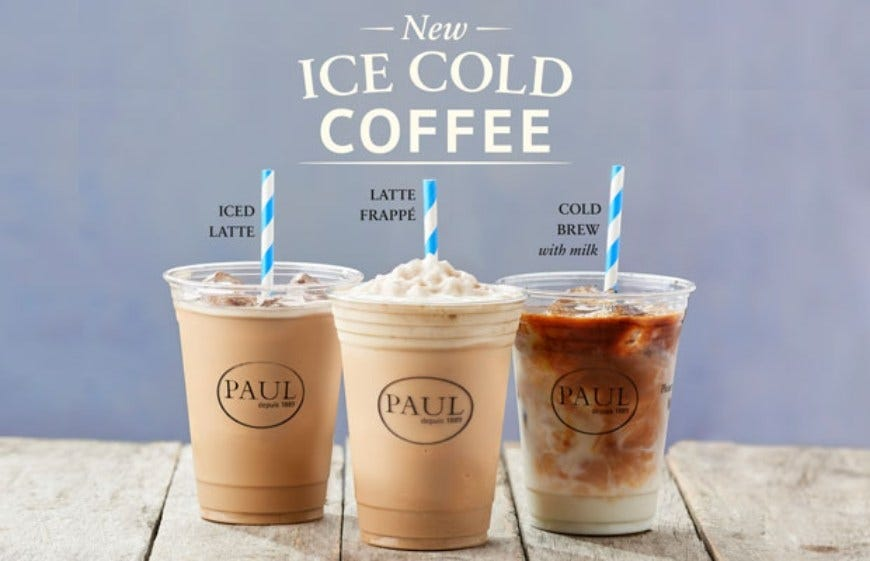 Paul Iced Coffees