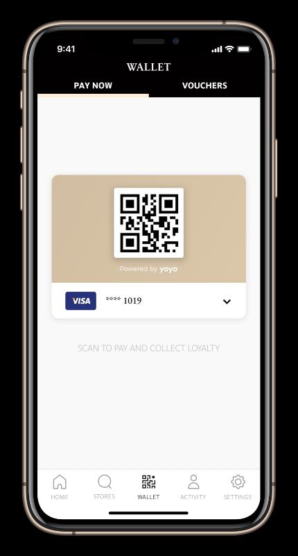 Paul App Wallet QR code